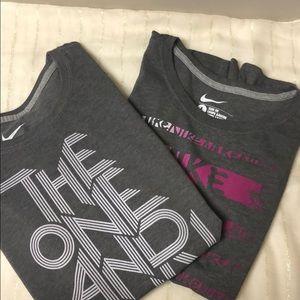 Bundle of 2 Nike TShirts